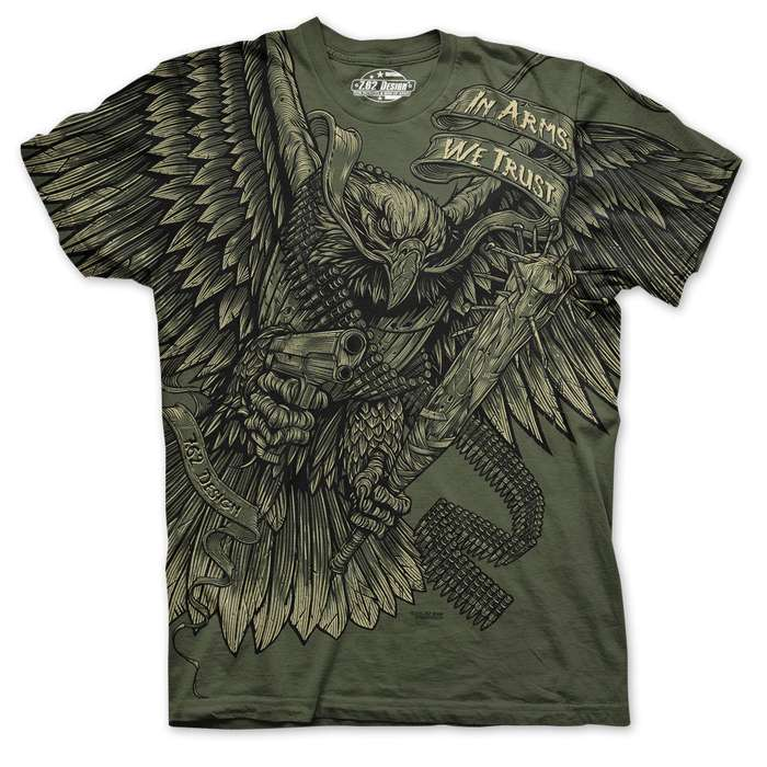 In Arms We Trust Short Sleeve Shirt