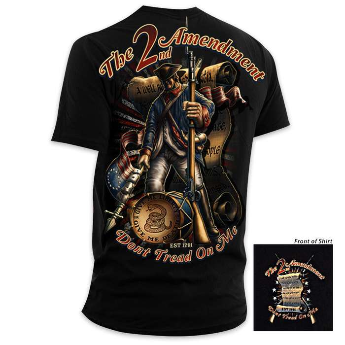 Second Amendment Dont Tread On Me Short Sleeve T-Shirt