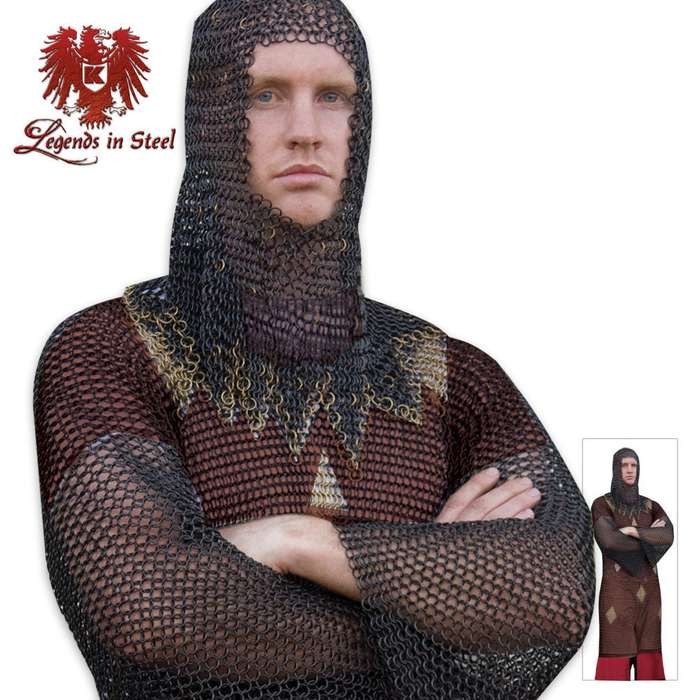 Legends in Steel Middle Ages Chainmail Armor Tunic