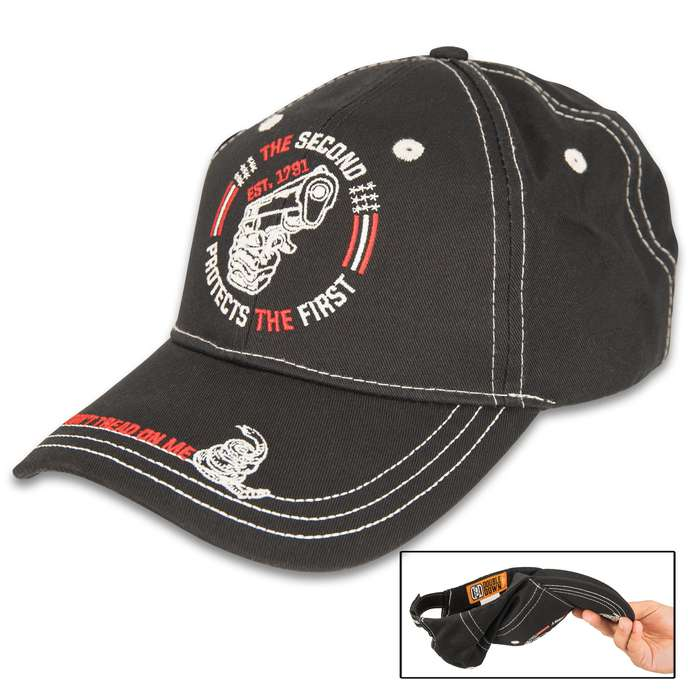 This cap is the most discreet and efficient personal defense you can have in your self-defense arsenal