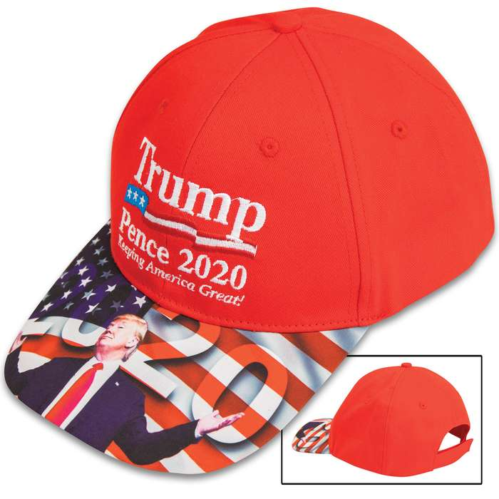 If you are supporting Trump and Pence to be reelected in the 2020 presidential election, then you need this hat to show your support
