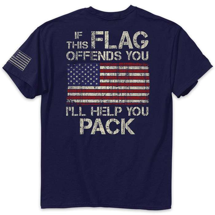 Help You Pack Navy Range T-Shirt