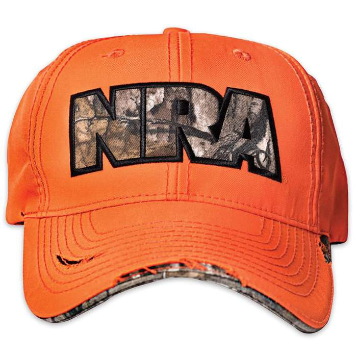 Buck Wear NRA High Visibility Orange Cap - Hat