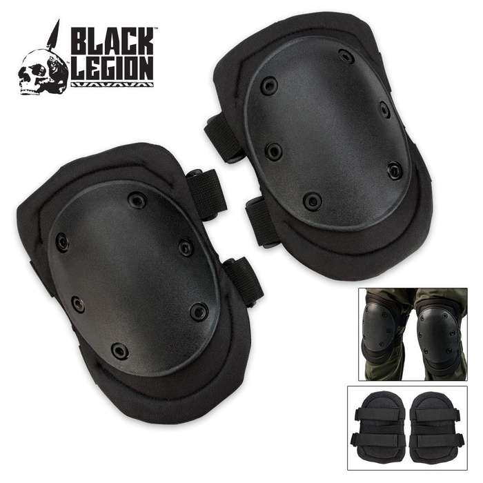 Black Legion Tactical Knee Pad Black