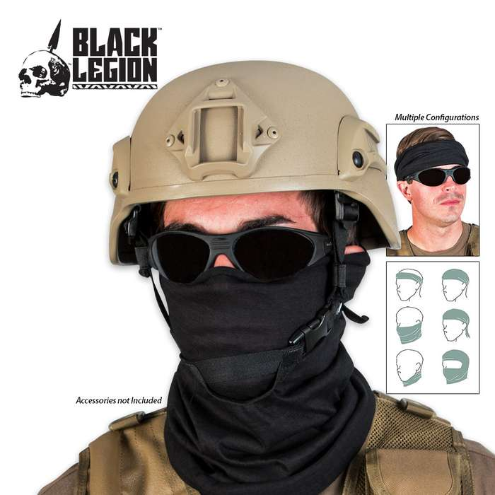 Tactical Multi Wrap Headgear Face Mask