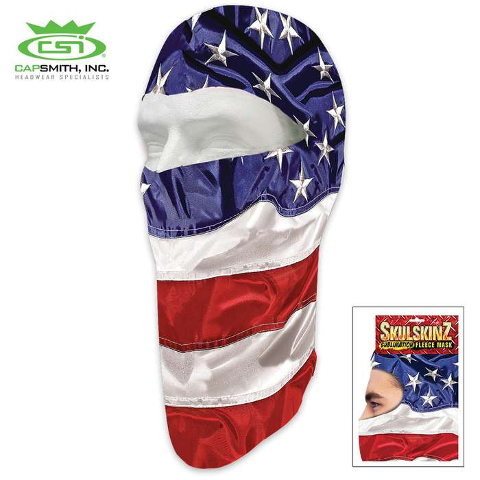 USA Fleece Face Mask - Heavy-Weight