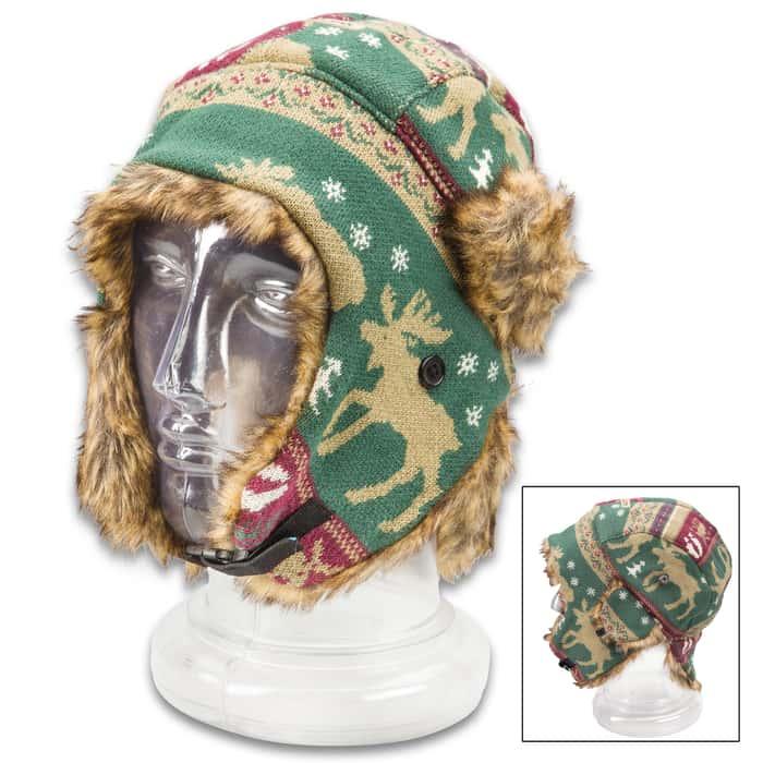 Moose Trooper Knit Hat