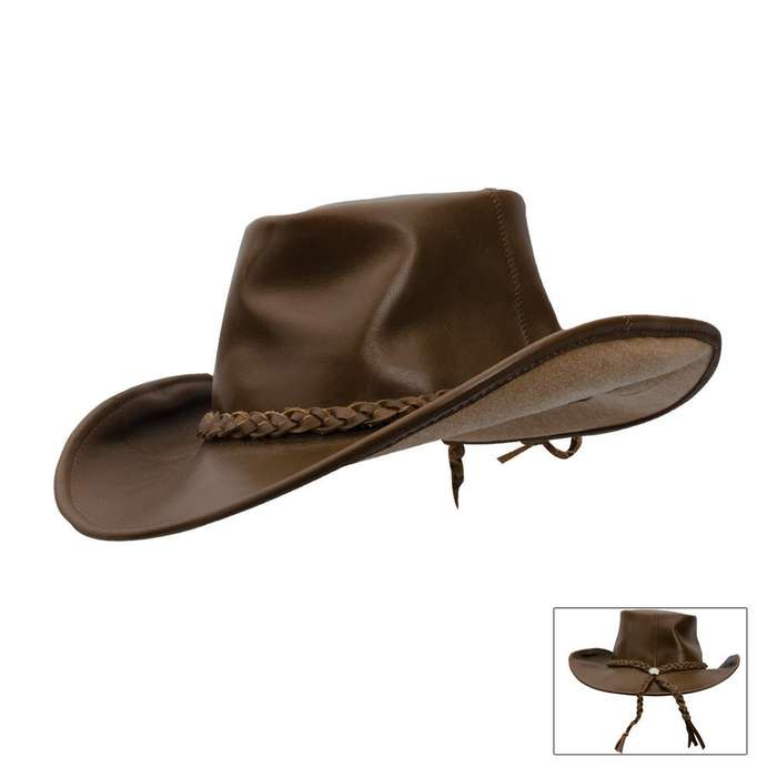 The Down Under Hat Brown