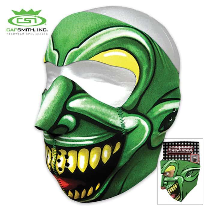 Grinning Goblin Neoprene Face Mask