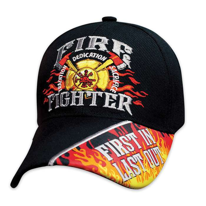 Fire Fighter First In Last Out Cap