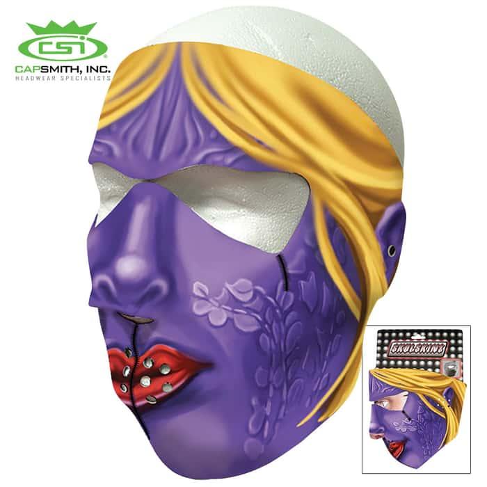 Miss Violet Neoprene Face Mask