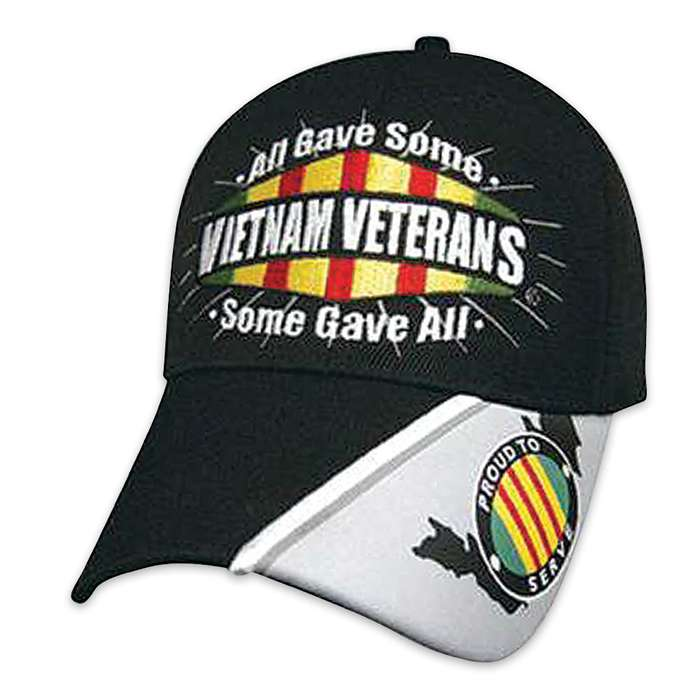 Military Freedom Vietnam Veteran All Gave Some Cap