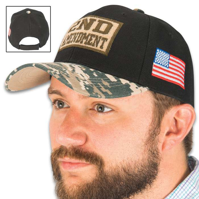 Not only an excellent way to show your support of the Second Amendment, but you can change the look every time you wear it