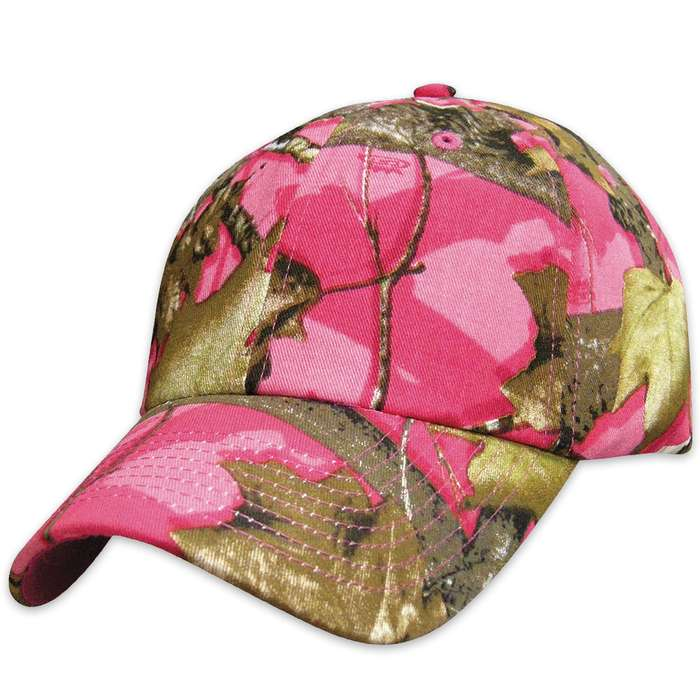 Hunting Camp Pink Camo Cap - Hat