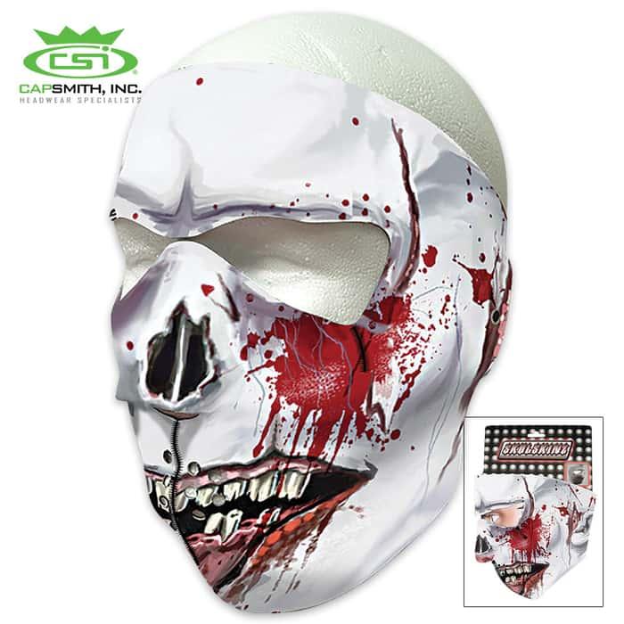 Bloody Feast Skull Neoprene Face Mask