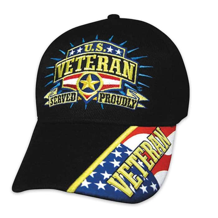 Military Freedom US Veteran Cap -Hat