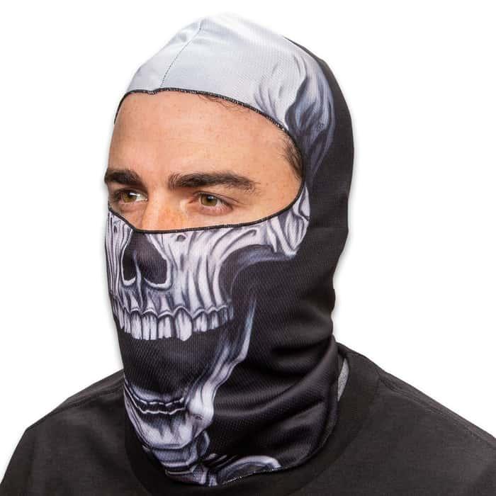 Skull Fleece Face Mask - Lightweight