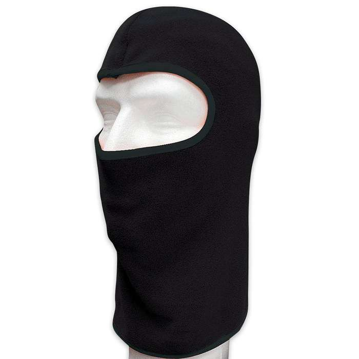 Black Lightweight Face Mask