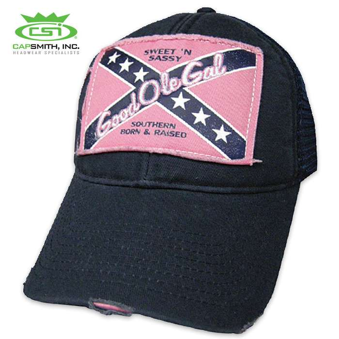 Good Ole Gal Rebel Hat