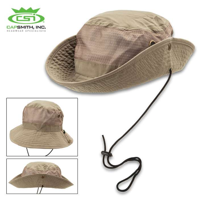 Microfiber UPF 50+ Jungle Hat