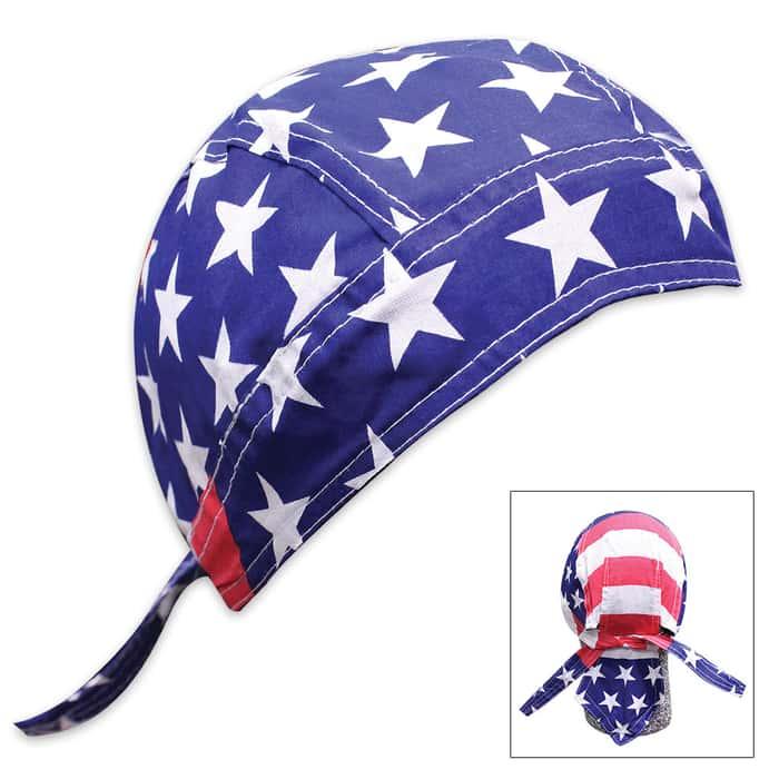 American Flag Bikers Bandana