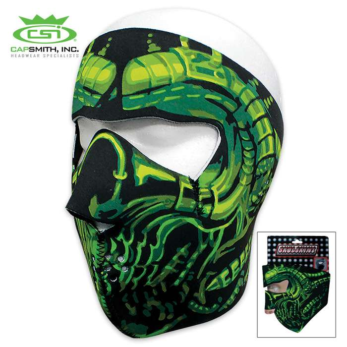 Radioactive Neoprene Face Mask