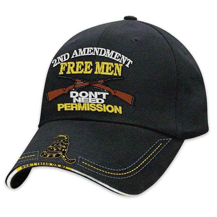 Free Men Do Not Need Permission Hat