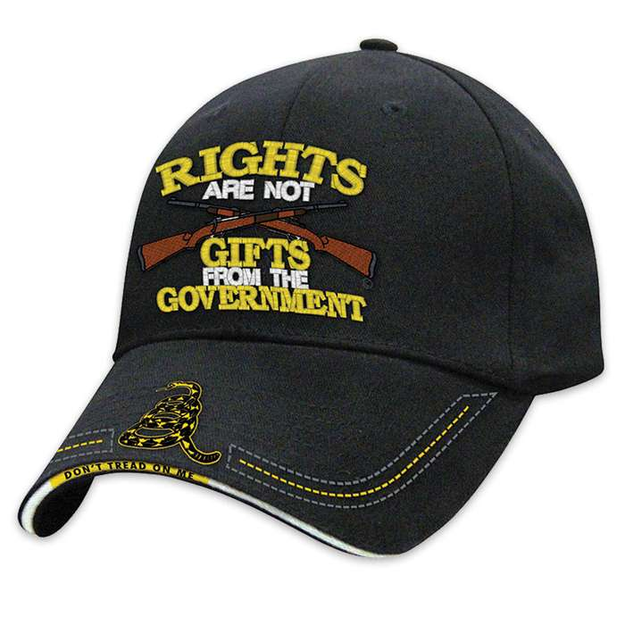 Rights Are Not Gifts From Government Hat