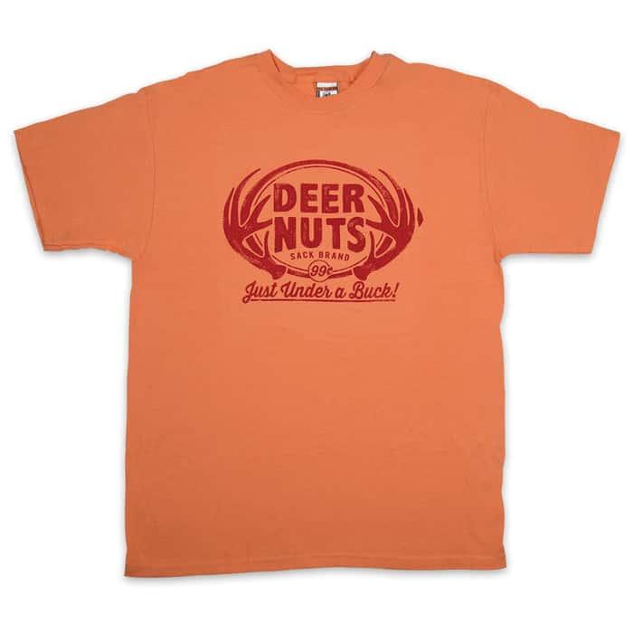 Deer Nuts Melon Orange T-Shirt