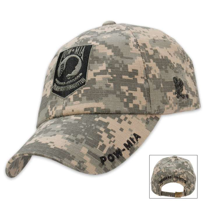 Eagle Crest POW MIA Digital Camo Cap - Hat