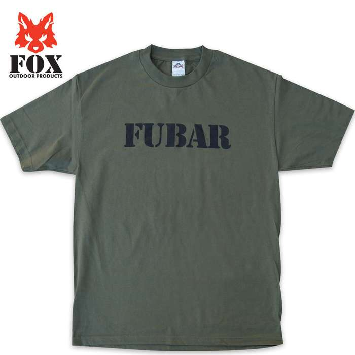Fox Fubar Short Sleeve T-Shirt