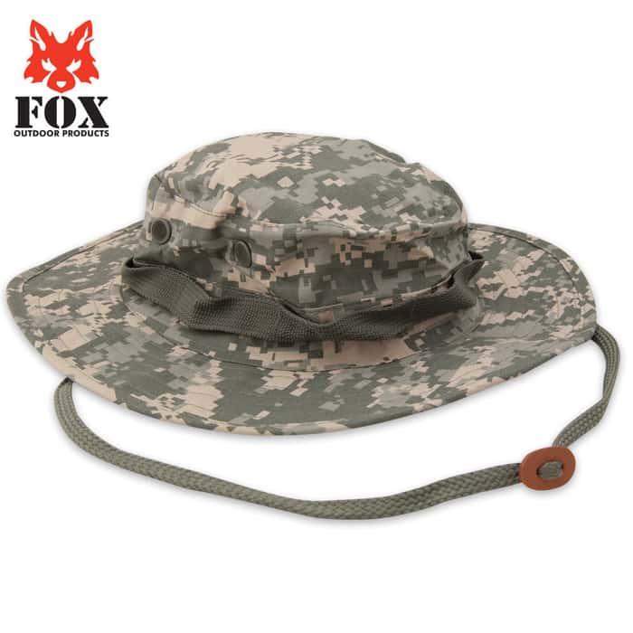 Fox Rip Stop Boonie Hat ACU