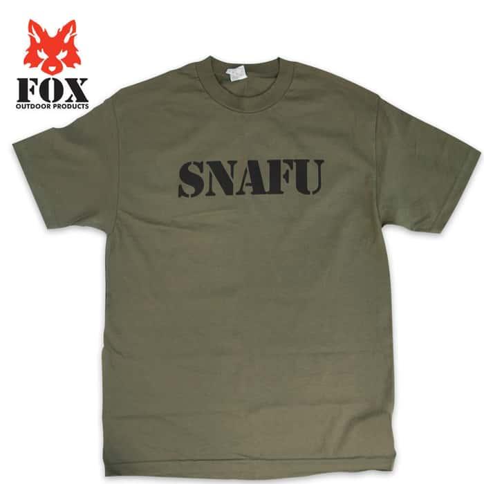 Fox Snafu Short Sleeve T-Shirt OD