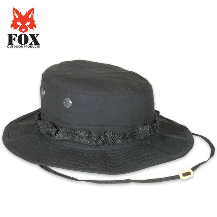 Fox Rip Stop Boonie Hat Black