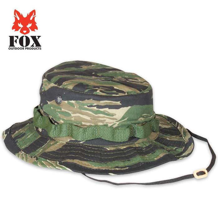 Fox Rip Stop Boonie Hat Tiger Stripe