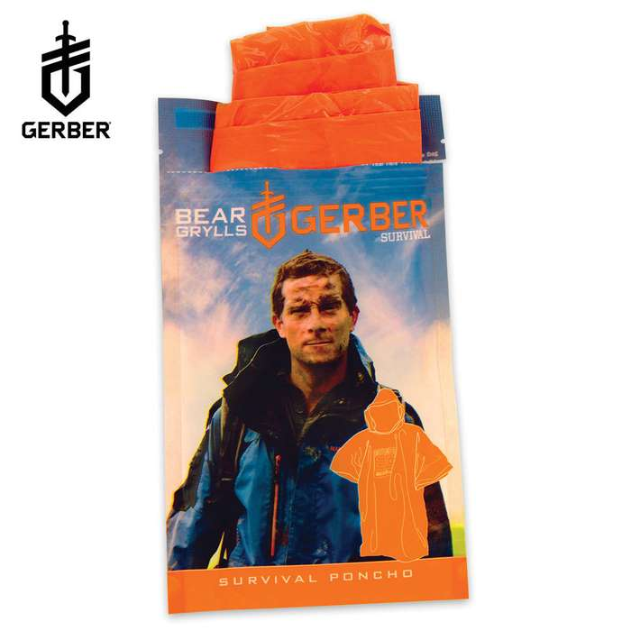 Bear Grylls Survival Poncho