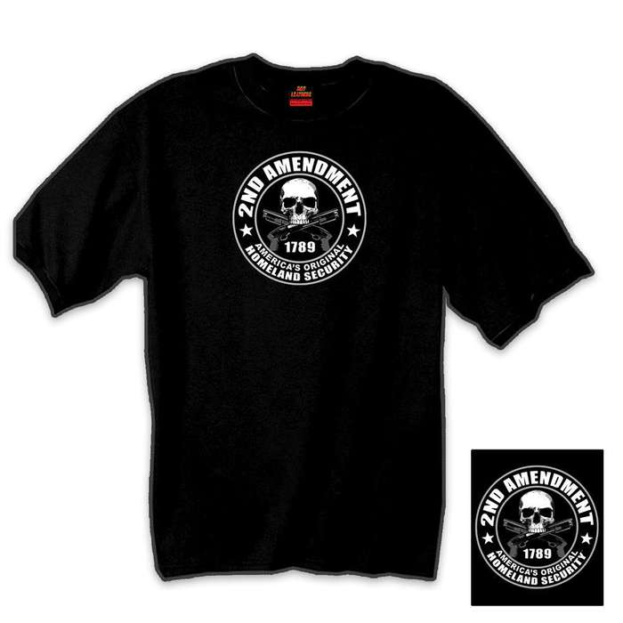 Second Amendment Short Sleeve T-Shirt