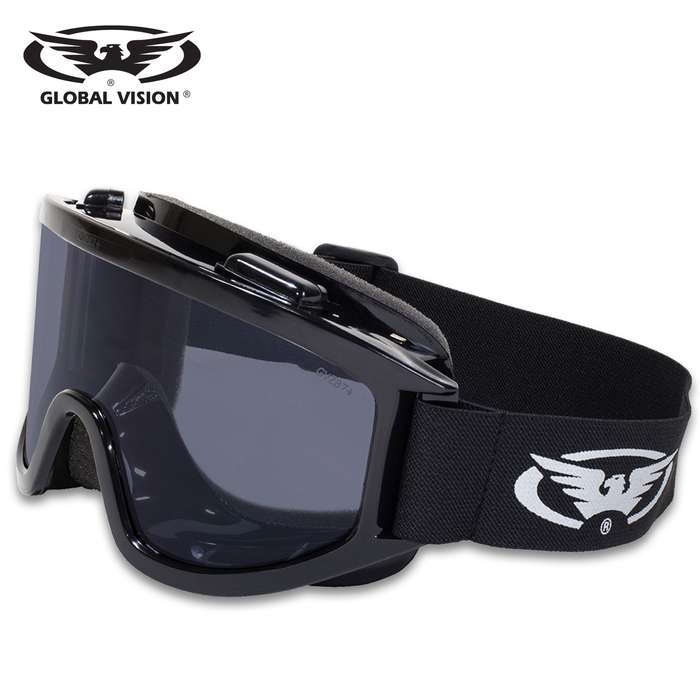 Our Global Vision Wind-Shield Goggles are the perfect accessory for your motorcycle