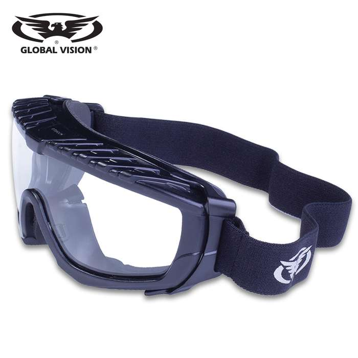 Our Global Vision Ballistech 1 Safety Goggles are the perfect addition to your range bag