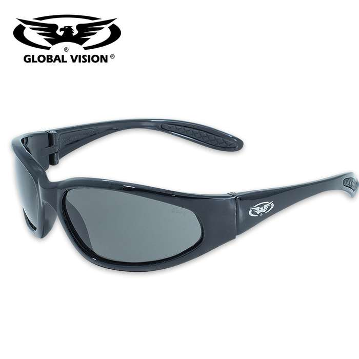 Global Vision Hercules Safety Sunglasses - Smoke