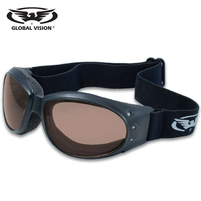 Our Global Vision Eliminator Mirrored Motorcycle Goggles are the perfect accessory for your motorcycle gear