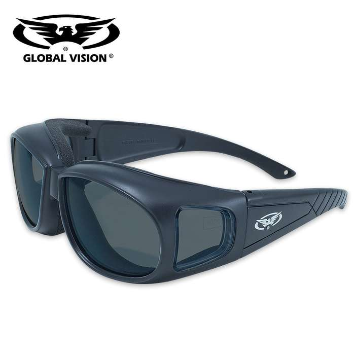 Outfitter Safety Glasses - Wear Over Prescription Glasses