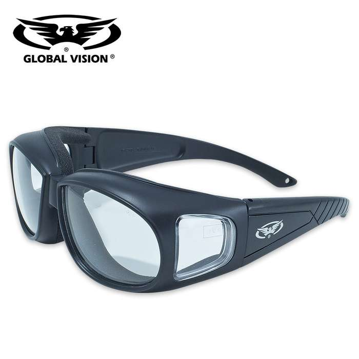 Outfitter Safety Sunglasses - Transitions From Clear To Smoke