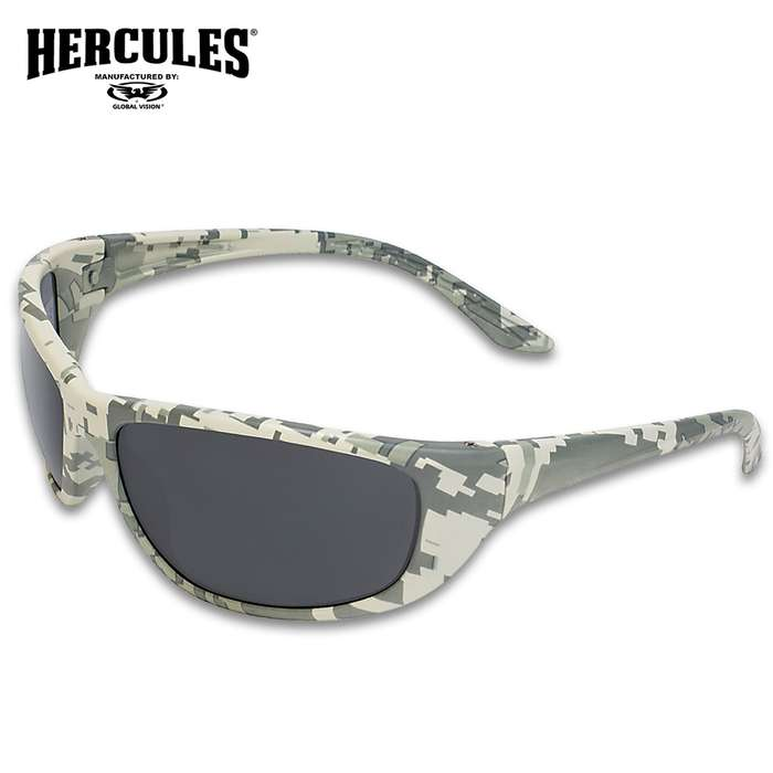 Our Hercules 6 Digital Camo Ballistic Sunglasses are the perfect addition to your range bag