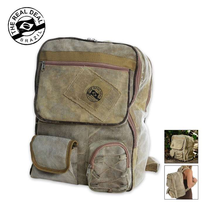 Real Deal Brazil Tarp Belem Backpack