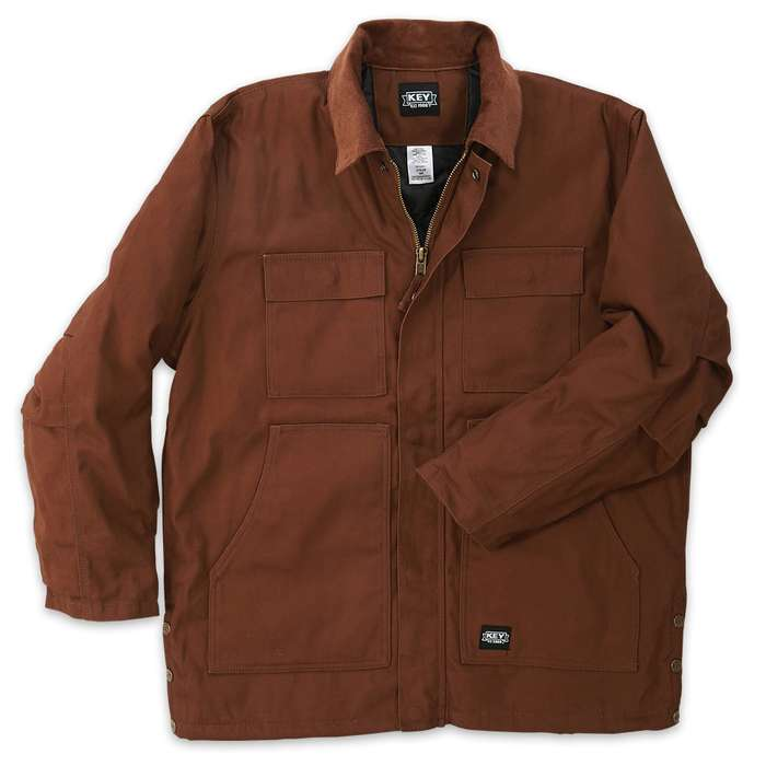 Key Industries Insulated Duck Chore Coat