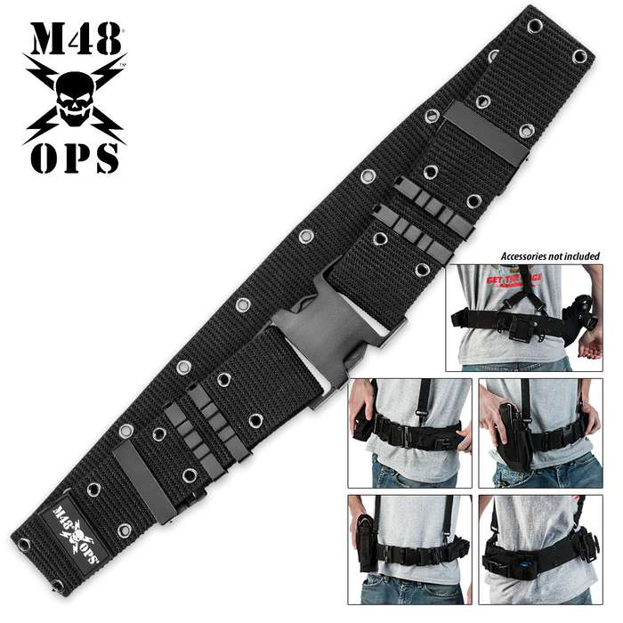 M48 OPS Pistol Belt Black