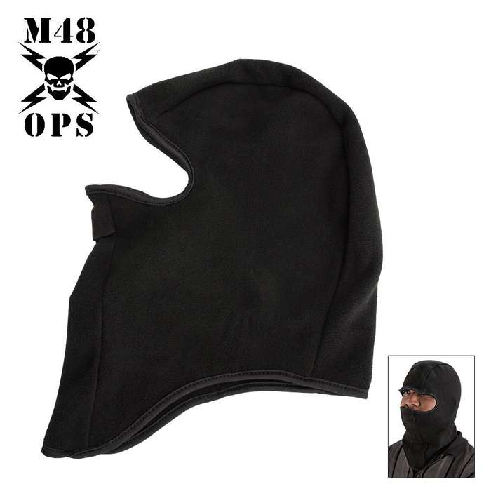 M48 Gear Face Ski Mast Balaclava Black