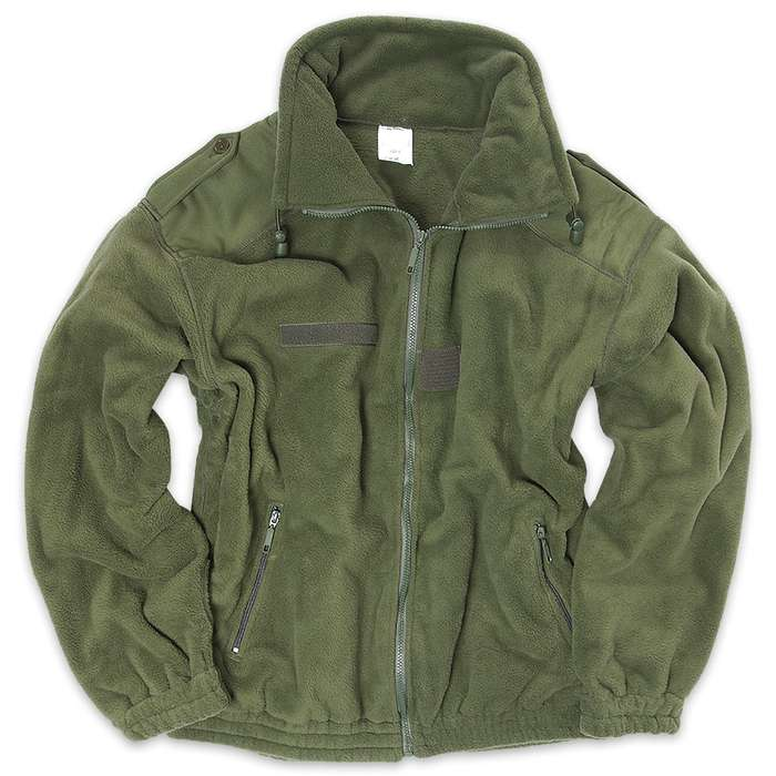 Mil-Tec French Foreign Legion Original Olive Drab Polar Fleece Jacket - XL