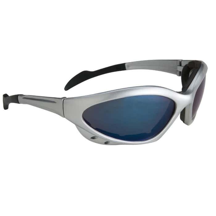 Blue Mirror Silver Sunglasses